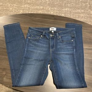 NWOT PAIGE VEFUGO Ankle Jeans